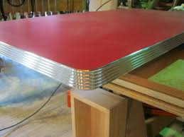 retro aluminum countertop trim