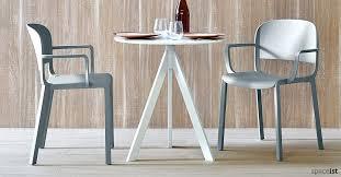 industrial style restaurant furniture. Round Cafe Tables Ark White Table Industrial Style Restaurant Furniture . I