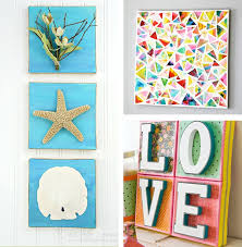 >wall art impressive diy wall art canvas diy wall art projects diy   abstract painting full colour love flower life leaf starfish white wall diy wall art canvas polkadot