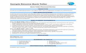 Sample Resume For Bank Jobs For Freshers Awesome Hr Cv Format – Hr ...