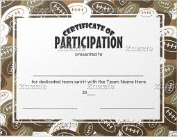 Samples Of Certificates Of Participation 9 Participation Certificates Examples Samples Examples