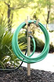 free standing hose holder liberty garden s freestanding stand decorative shower hol