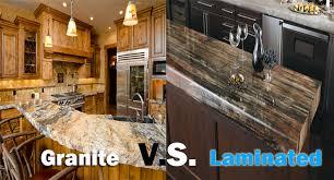granite vs laminate
