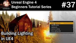 Unreal Engine Build Lighting 37 Building Lighting In Ue4 Lighting Needs To Be Rebuilt Fix For Unreal Engine 4