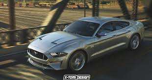 2018 ford gt350. modren 2018 what the 2018 ford mustang would look like with four doors and as a gt350 ford gt350
