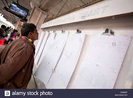 Indian Railway Reservation Chart Reservation Chart Stock Photos Reservation Chart Stock