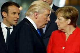 Image result for trump merkel