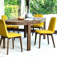 colored leather dining chairs yellow mustard chair chai