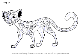 Small Picture Learn How to Draw Fuli from The Lion Guard The Lion Guard Step