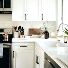 white kitchen cabinet with black handles kitchen ideas cabinet pulls for white cabinets black counter within