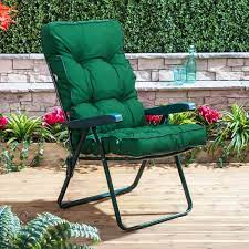 recliner chair green frame with