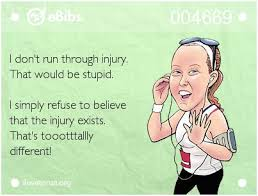 Image result for runner injury meme