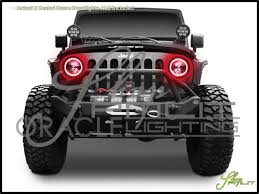 oracle lights 69 69 jeep universal truck 7 led halo 2 sealed beam headlights headlamp