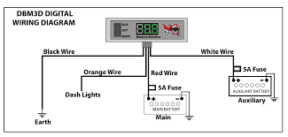 p ha offroad battery monitors 4x4 accessories online dbm3d digital wiring diagram