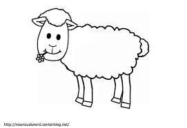 Dessins Gratuits Colorier Coloriage Mouton Imprimer