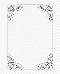Black And White Invitation Paper Wedding Invitation Template Paper Party Png 736x1017px