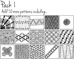 Doodle Patterns Gorgeous Doodle Patterns A Library Of Doodles In Your Pocket