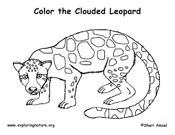 Leopard Coloring Pages Printable Fun For Kids