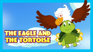 Small Picture Story For Kids THE EAGLE AND THE TORTOISE The Turtle And The