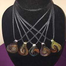 whole gl teardrop pendant necklaces boutique