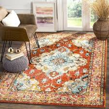 orange outdoor rug excellent blue and area rugs regarding ordinary