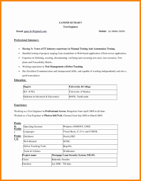 Download Resume Template Resumes Sample Format Pdf Word Document