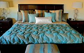 Bedding — Colorado Springs Custom and Model Home Interior Design ... & Custom quilted fitted bedspread with Euro Pillows Adamdwight.com