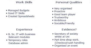 excellent personal traits in resume 48 with additional resume