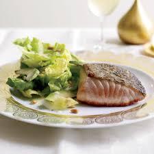 Crisp Salmon with Avocado Salad Recipe ...