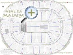 Verizon Center Interactive Seating Chart Concert Smoothie King Center Arena Seat Row Numbers Detailed