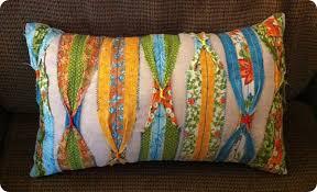 Quilting Strip Throw Pillow & Quilting Strip Pillow Adamdwight.com