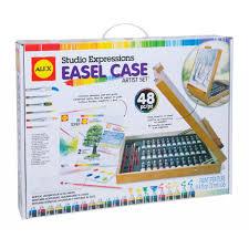 art 58ex easel case artist set frontangle