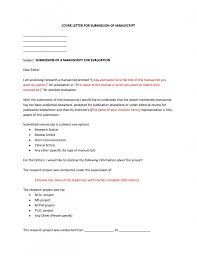 Cover Letter Latest Trend Of Covering Letter For Submission Of