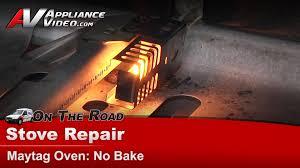 oven range repair not baking or heating whirlpool maytag kitchenaid mgr5775qdw you