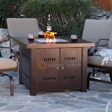 pit table patio deck backyard heater fireplace propane lp furniture