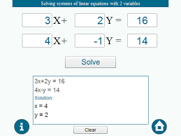 solve systems of linear equations calculator jennarocca