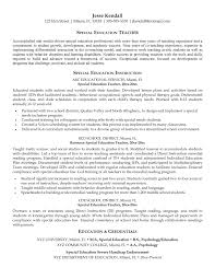 Example Of Teacher Resume Sample Resume For Early Childhood Teacher Event Coordinator Early 97
