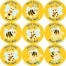 Bee Behaviour Chart 144 Busy Bee 30 Mm Reward Stickers For School Teachers Parents And Nursery