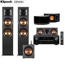 DÀN ÂM THANH XEM PHIM - NGHE NHẠC 5.1 DENON AVR X2700H - KLIPSCH R 820 –  Music Go!