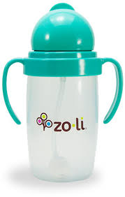 zoli bot 2 0 10 oz straw sippy cup mint