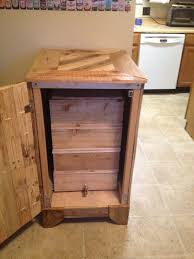worm composter bins with cabinet