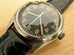 rolex oyster black dial steel 1944 vintage watches rolex oyster black dial steel 1944