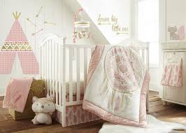Dream Catcher Baby Bedding Levtex Baby Little Feather 100 Piece Crib Bedding Set Coral 45