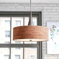 haugland 3 light drum pendant