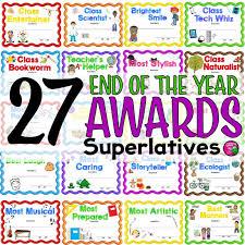 Superlative Certificate 27 End Of The Year Superlative Award Certificates 2 Nomination