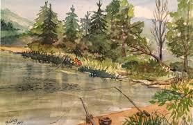 kress lake. fishing at kress lake, kalama lake e