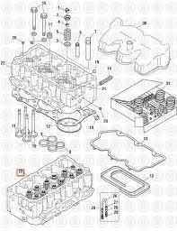 cylinder heads mack e cylinder head ech  mack e7 cylinder head ech 3319
