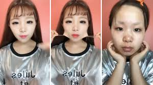 after seeing these 22 women remove their makeup you will never be able to trust anyone again bored panda