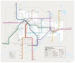 Twin Cities Light Rail Map Twin Cities 2030 Plan With Some Additions Map City Map