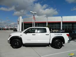 2012 Super White Toyota Tundra T-Force 2.0 Limited Edition CrewMax ...